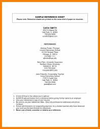 reference page examples reference page examples resume reference reference page examples reference page examples resume reference sheet format metal worker sle exle for jpg