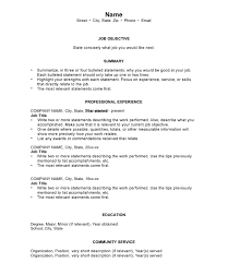 chronological resumes sample templates and examples format of chronological resume