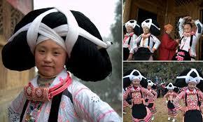 <b>Chinese</b> tradition sees women wear <b>hats</b> made of dead ancestors ...
