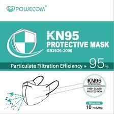 Powecom <b>KN95 Respirator Mask</b> - FDA Authorized
