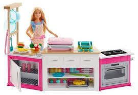 Набор Супер кухня с <b>Барби Barbie</b> FRH73 - купить по цене 3999 ...