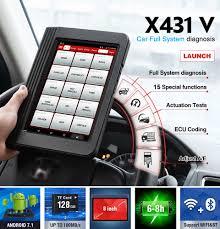 <b>LAUNCH X431</b> V <b>Full System</b> Professional OBD2 Diagnostic Tool ...