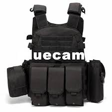 2019 Bluecamp High Quality!<b>Tactical Vest</b> 1000D With Three ...