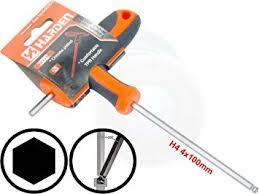 4mm T-Handle <b>Hexagon Torque</b> 6Point <b>Hex</b> Key CRV TPR ...