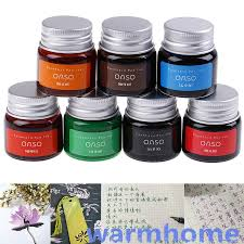 WMPH <b>20ml</b> Authentic <b>Pure Colorful</b> Ink Fountain Pen Writing Ink ...