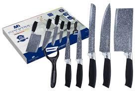 <b>Набор</b> MunchenHaus 5 <b>ножей и овощечистка</b> MH-1127 — купить ...