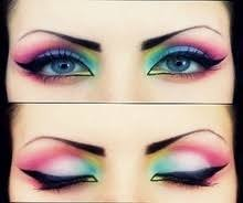 wow i used to wear my eye make up like this in the early 80