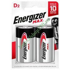 Купить <b>Батарейка ENERGIZER MAX LR20</b>/E95/<b>D</b> (упаковка 2шт ...