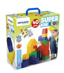<b>Конструктор</b> блочный из гибкого пластика SUPER KIM <b>BLOC</b> (40 ...