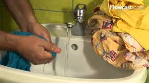 How to <b>Hand Wash Clothes</b> - YouTube