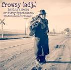Images & Illustrations of frowsy