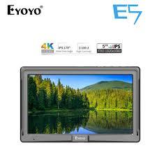 <b>Eyoyo E5 5 Inch DSLR</b> Camera Field Monitor IPS Full HD ...