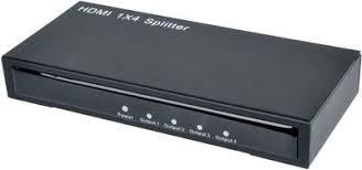 <b>HDMI</b>-разветвитель 1x4 с усилителем до 30м, <b>ESPADA</b> EDH12
