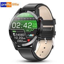 <b>S18 Full</b> Screen <b>Touch</b> Smart Watch IP68 waterproof Men Sports ...