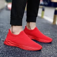 BomKinta New Slip On Breathable Mesh <b>Men Flats Fashion Casual</b> ...