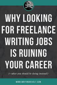 17 best images about writing revolt courses lance writing jobs stop looking for them here s why