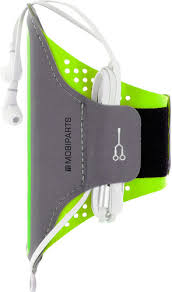 Mobiparts Comfort Fit Sports <b>Bracelet Samsung Galaxy</b> S9 Plus Green