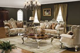 living room furniture miami: victorian style living room furniture miami photo features antique finished wood top coffee table and glamorous chandelier also antiq
