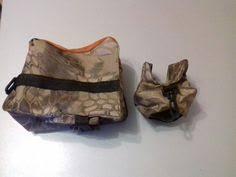 <b>Front&Rear</b> Bag Support Rifle <b>Sandbag</b> without Sand Sniper ...