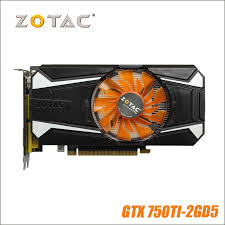 <b>Original ZOTAC Video Card</b> GeForce GTX 750 Ti 2GB 128Bit ...