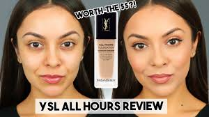 <b>YSL ALL HOURS</b> FOUNDATION FIRST IMPRESSION REVIEW ...