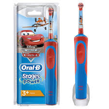 <b>Oral</b>-<b>B</b> Stages Power Kids Electric Toothbrush Featuring Disney <b>Cars</b>