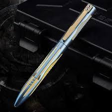 TC4 <b>titanium</b> one <b>CNC</b> engraving and milling <b>tactical</b> pen Tungsten ...