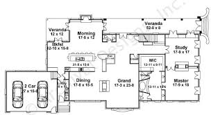 Charleston House Plan   Home Plans By Archival DesignsCharleston   House Plan   Colonial   First Floor Plan