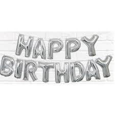 <b>Happy Birthday</b> Balloon <b>Letter Banner</b> - Walmart.com