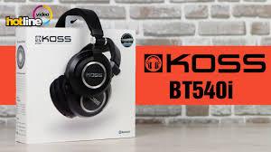Koss BT540i - обзор беспроводных Bluetooth-наушников - YouTube