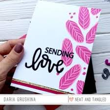 <b>GJCrafts</b> Heart Clear Stamps and Metal <b>Cutting</b> Dies for ...
