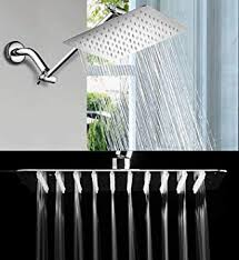 MASCARELLO 12 inch Square Stainless Steel <b>Rain</b> Shower Head ...