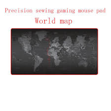 Large <b>World Map</b> Design Fashionable Mouse Pad <b>Rubber</b> Gaming ...