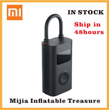 Xiaomi Electric Air Pump <b>Mijia</b> Rechargeable inflator <b>150PSI</b> Smart ...