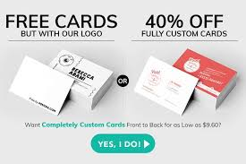 Free Business Cards & <b>Free Shipping</b> - Yes Totally Free! | 4OVER4 ...