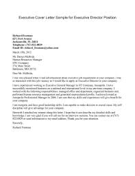 sample cover letter for program director position cover letter cover letter
