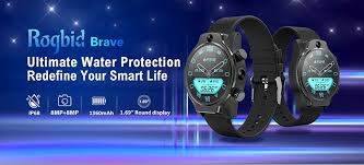 $179 with coupon for <b>Rogbid Brave 4G 5ATM</b> Diving Smart Watch ...