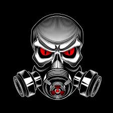 ᐈ Skull with a gas mask stock pictures, Royalty Free <b>skull gas mask</b> ...