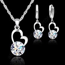 JEXXI 2017 <b>New</b> Jewelry Shinning CZ Jewelry <b>Set 925</b> Sterling ...