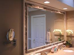 bathroom vanity mirror ideas modest classy: image of bathroom mirror frame ideas