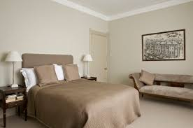 colours for a bedroom: relaxing bedroom in old white by farrow amp ball