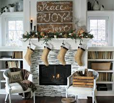 brilliant white christmas fireplace inspiring brilliant 12 elegant rustic