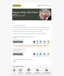 preview our best used referral ijp email templates recruiter zone a subtle email theme a professional look