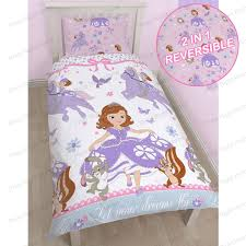 disney sofia the first bedding single double amp junior duvet disney sofia the first bedding single double amp