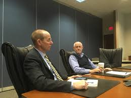 amazon prime to build billion cargo hub at cvg project tri ed president and ceo dan tobergte left and mazak s mike vogt a kedfa board member provide details of today s agreement to offer incentives to amazon