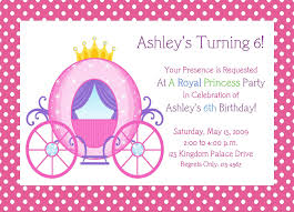invitation princess birthday invitation template princess birthday invitation template medium size