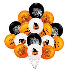 Toyvian 40 Pcs <b>Halloween Balloons</b> Halloween Pumpkin Bat <b>Spider</b> ...