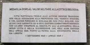 Risultati immagini per lapide ai caduti per la libertà bologna