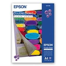 <b>Epson Double Sided Matte</b> Paper 178gsm