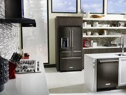 black stainless steel kitchen appliances kitchenaid black stainless kitchen appliances chefs cooks